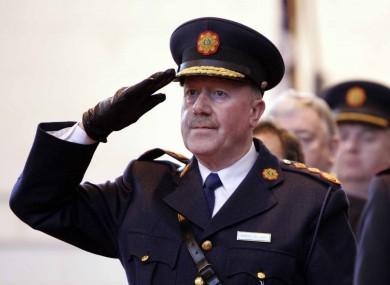 Martin Callinan  Garda Commissioner